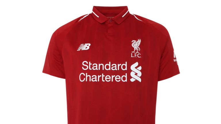 New Liverpool kit - Liverpool unveil new home kit for 2018/19