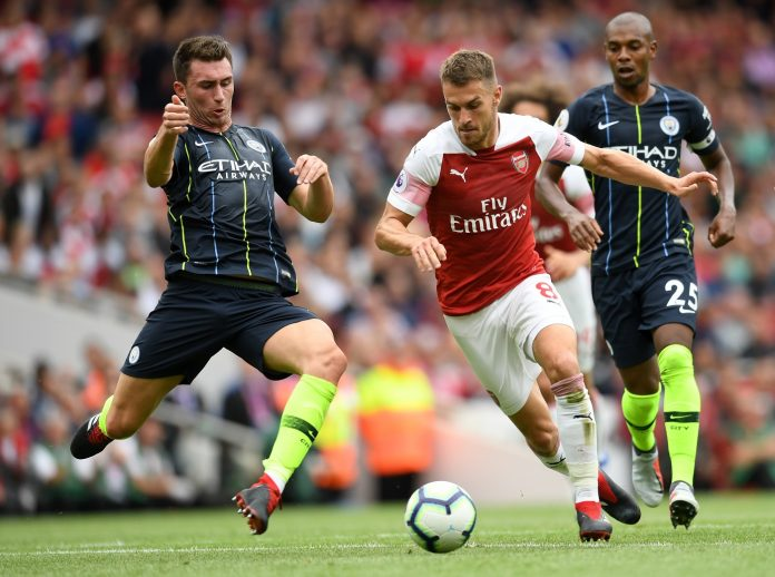 Aaron Ramsey of Arsenal