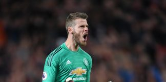 David De Gea of Manchester United