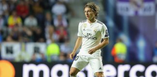 Real Madrid star Luka Modric