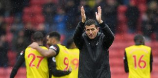 Javi Gracia, Manager of Watford