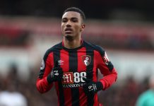 Junior Stanislas of AFC Bournemouth during the Premier League match between AFC Bournemouth and Tottenham Hotspur