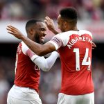 Arsenal stars Alexandre Lacazette and Pierre-Emerick Aubameyang