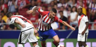 Lucas Hernandez of Club Atletico de Madrid