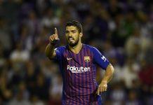Luis Suarez of Barcelona
