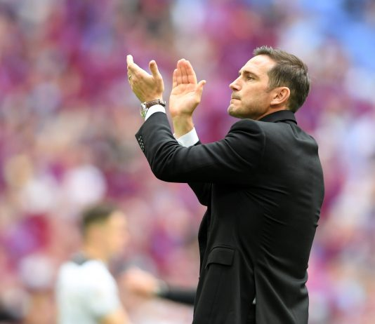 New Chelsea manager Frank Lampard?