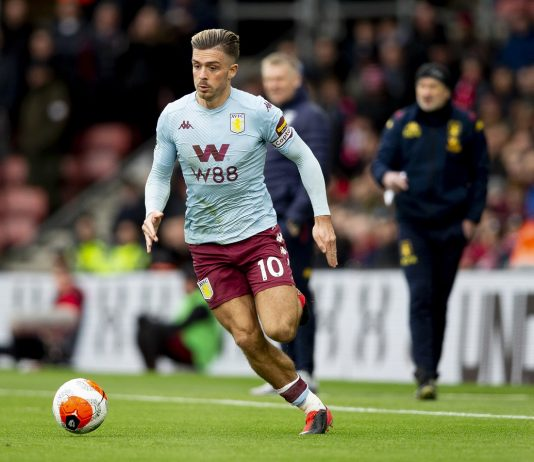 Aston Villa star Jack Grealish