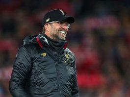 Liverpool manager Jurgen Klopp celebrates