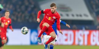 RB Leipzig striker Timo Werner