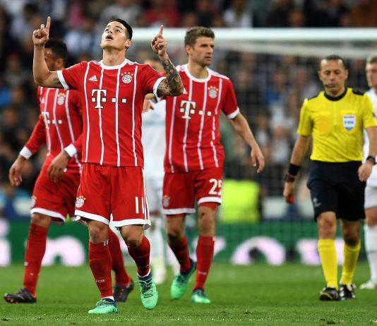 James Rodriguez of Bayern Munich