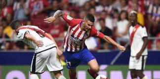 Lucas Hernandez of Club Atletico de Madrid