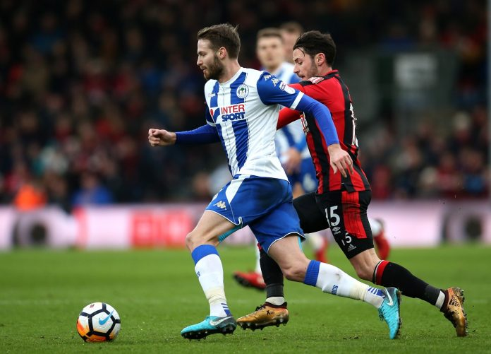 Nick Powell of Wigan Athletic