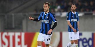 Inter Milan midfielder Christian Eriksen